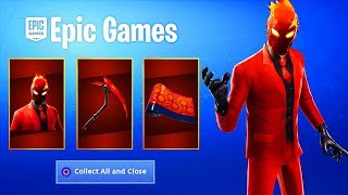 The NEW Fortnite INFERNO SKIN PACK! (Free VBUCK Challenges)
