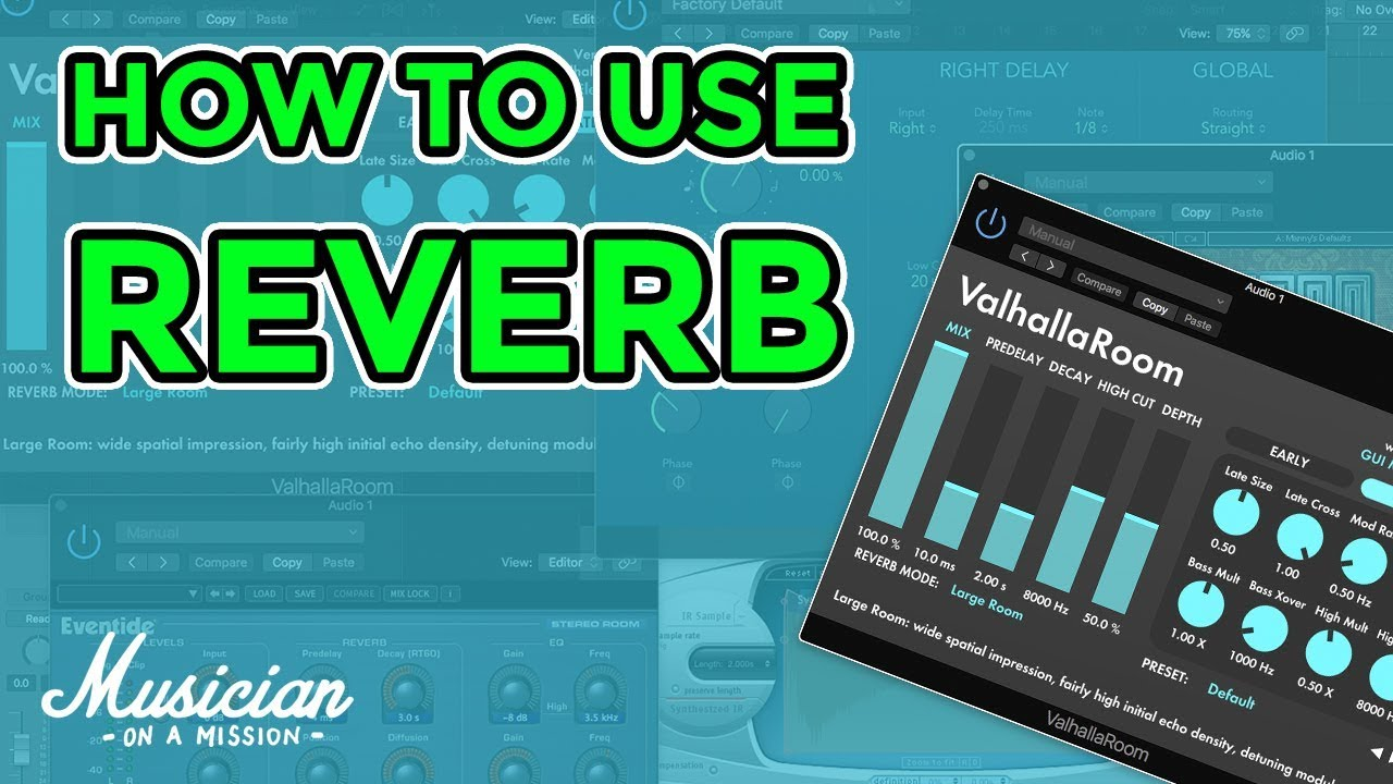 How to Use Reverb Like a Pro - 3 Simple Techniques for 3D Mixes