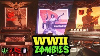 ALL PERK LOCATIONS THE FINAL REICH DOUBLE TAP SPEED COLA STAMINA UP MORE WW2 Zombies