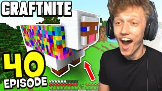 Craftnite: Episode 40 - I BUILT THE BIGGEST SHOP IN MINECRAFT! (i'm rich)