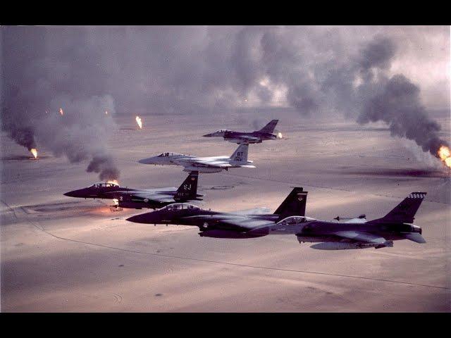 La guerre du Golfe, une guerre aérienne
