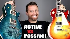 ACTIVE vs PASSIVE Pickups! - Can You Hear The Difference?