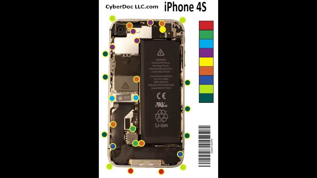 Iphone 4s Repair Parts Diagram Trusted Wiring Diagrams 4 S Circuit Pdf Connection U2022 Internal