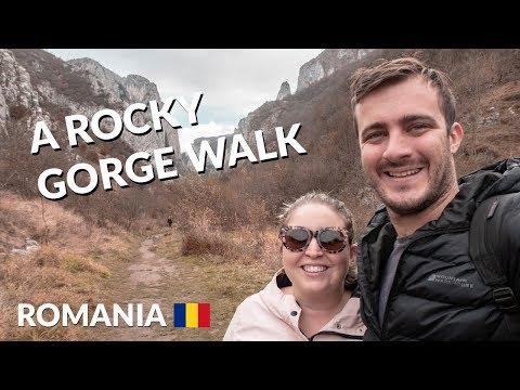 Walking through Cheile Turzii (Turda Gorge) in Cluj-Napoca | Romania travel vlog