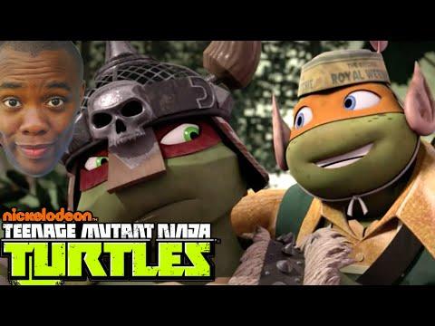 """NINJA TURTLES """"Turtles in Time"""" Review : Black Nerd"""
