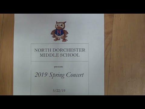 North Dorchester Middle School Spring Concert 2019