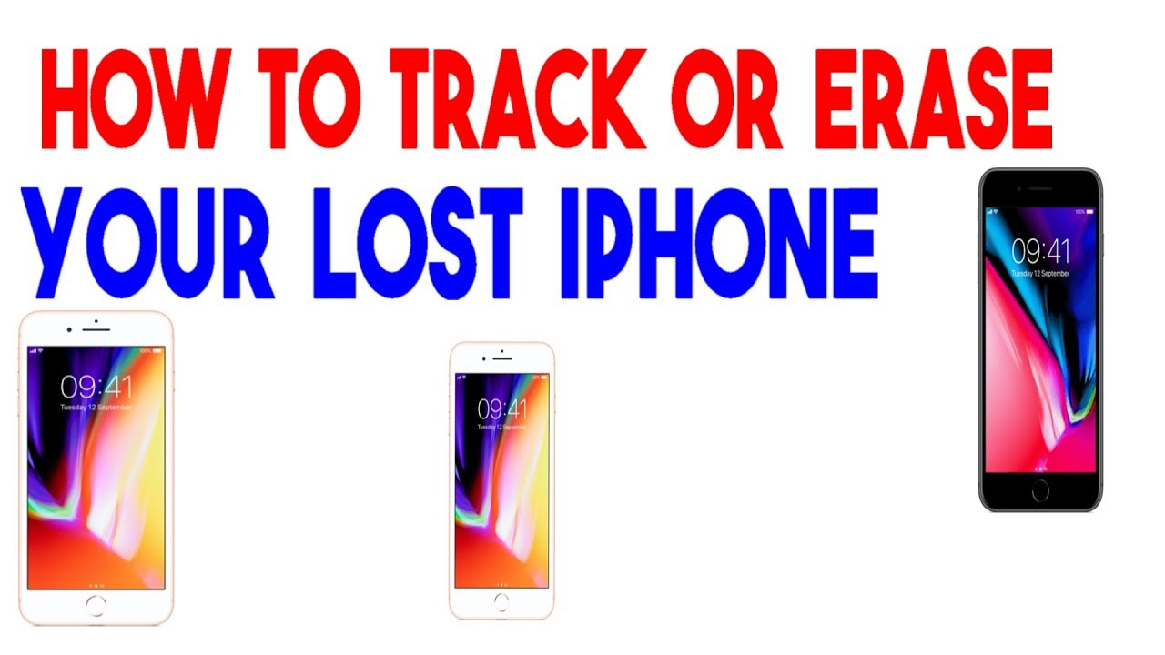 How To Hack Or Erase Your Lose Apple Iphone Mobile Devices