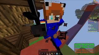Мой первое видео - Minecraft Hypixel The Bridge.