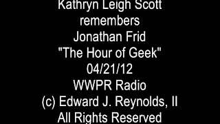 """Dark Shadows"" actress Kathryn Leigh Scott (""Maggie Evans,"" ""Josette"") remembers Jonathan Frid"
