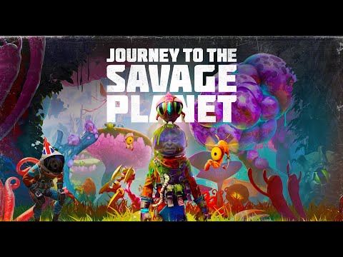 WTF IS THIS GAME?? | Journey to the savage planet PART 1 |