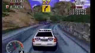 [Retro Gameplay] Sega Rally, Sega Saturn