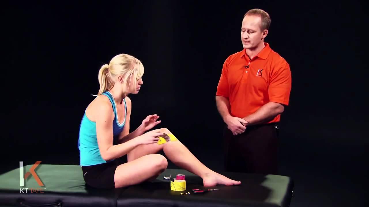 Kt tape dolor en el interior de la rodilla youtube - Dolor en la parte interior de la rodilla ...