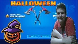 Fortnite la Nueva 2.44 Consegui el Romperrocas en Hallowen
