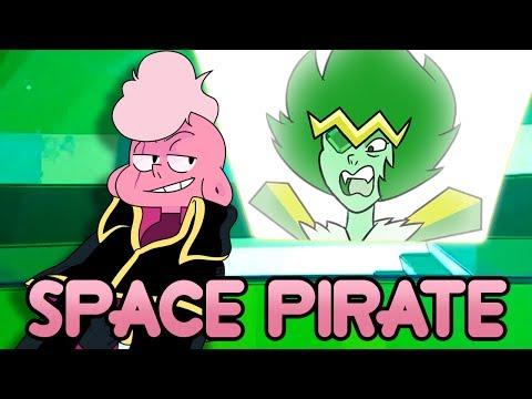 Lars of The Stars Sneak Peek Breakdown/Analysis! Emerald Gem + Pirate Captain Lars - Steven Universe