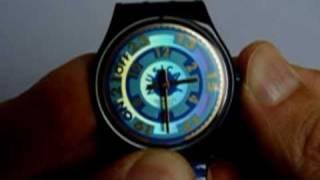 Swatch MusiCall Zeiger justieren / kalibrieren - adjust your MusiCall