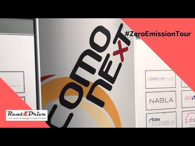 1° Tappa di #ZeroEmissionTour di Rent&Drive: a ComoNext per la mobilità sostenibile