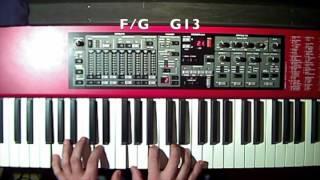 The Nearness Of You Norah Jones Piano Tutorial Demo
