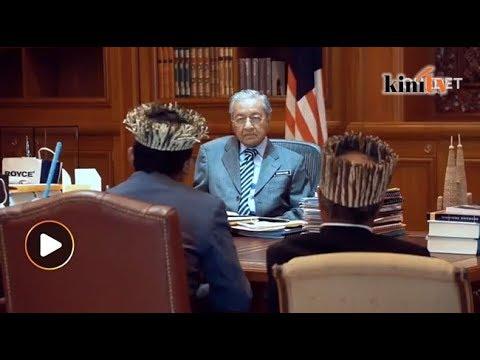 Orang Asli Temiar jumpa Dr M selepas tunggu 7 jam