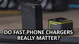 Faster Phone Chargers Explained - Qualcomm Quick Charge 2.0(Are chargers with Qualcomm Quick Charge 2.0 really that much faster than standard phone chargers? Sponsor link: ..., 2015-01-28T08:02:54.000Z)