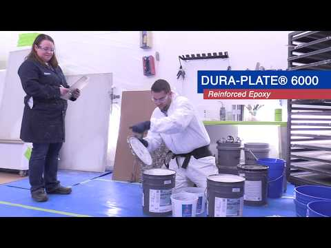 Dura-Plate® 6000 Reinforced Epoxy Application Demo