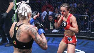 Nadine Mandiau vs Melissa Cervantes Full Fight | MMA | Combate San Antonio / Видео