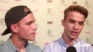 The Rhodes Brothers talks how they got roles on Scream Queens(Front Row Features | Pacific Rim Video | KCOY 12 Central Coast News celebrity guest correspondent Jennifer Tapiero talks to The Rhodes Brothers during the ..., 2015-07-15T18:05:28.000Z)