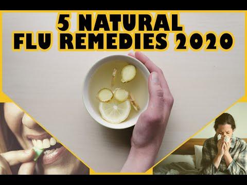 5 Natural flu fighting remedies 2020