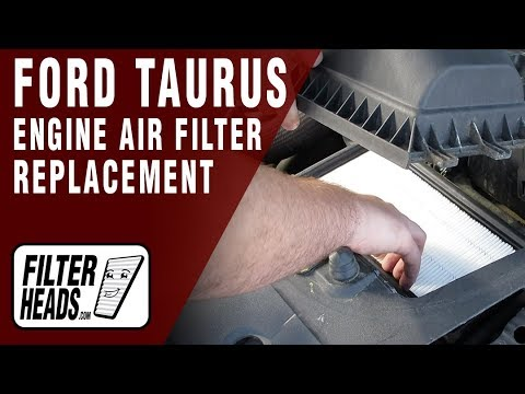 How To Replace Engine Air Filter 2011 Ford Taurus V6 3.5L