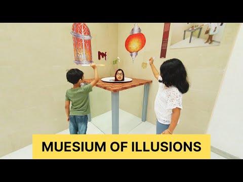 MUSEUM OF ILLUSIONS|Al Seef|DUBAI|