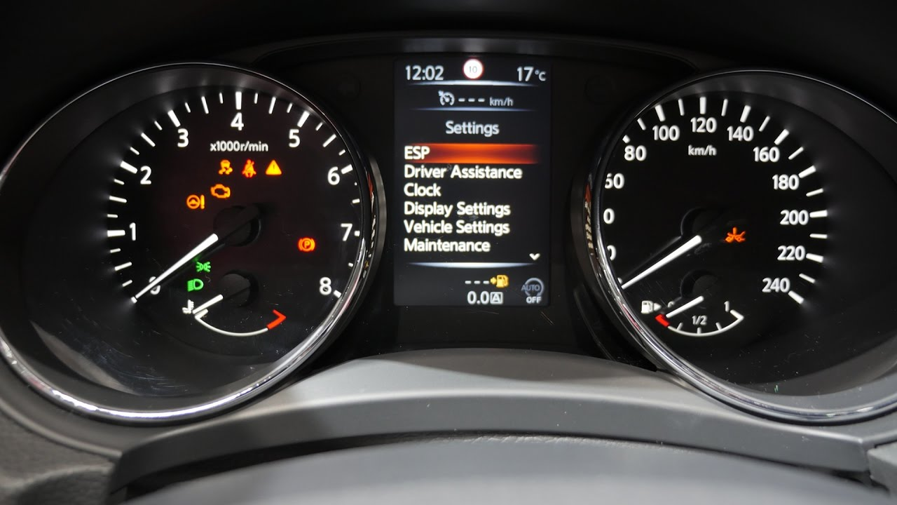 Nissan Qashqai 2015 Dashboard Warning Lights Nissan Qashqai Review