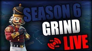 Fortnite Season 6 - OG Nutcracker Skin - Decent Player (200+ Wins) (YouTube Grind)