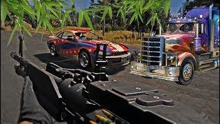 Кола, Камион и БАМБУК! - Far Cry 5 #4