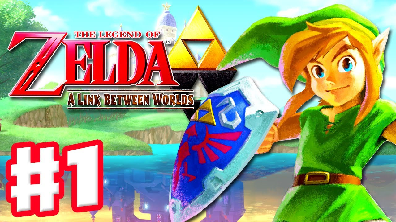 The Legend Of Zelda A Link Between Worlds Gameplay Walkthrough Part 1 A New Hero Nintendo 3ds Youtube