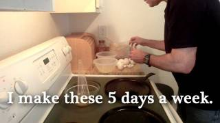 Eggs'n'oats Pancakes!
