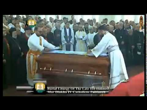 Funeral Mar Dinkha Fourth Patriarch Of The Assyrian Church, The Second Part