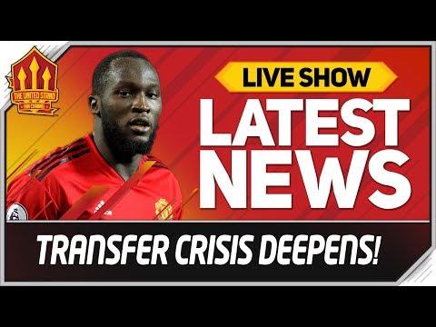 Lukaku Transfer U-Turn! Man Utd Transfer News