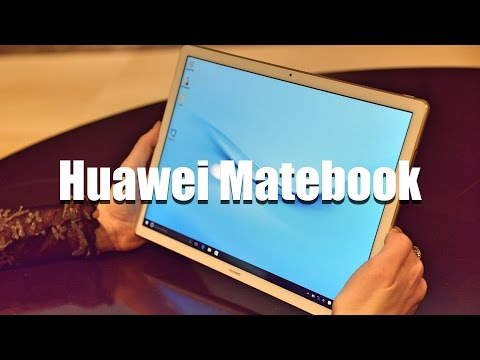 Huawei Matebook - планшет на Windows 10