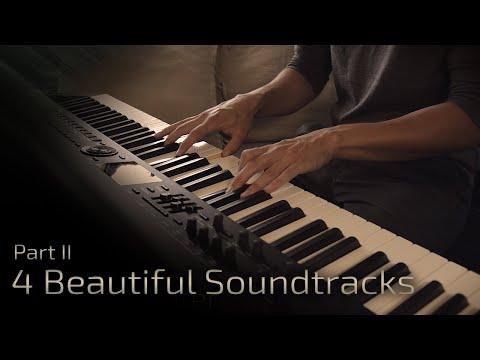 4 Beautiful Soundtracks - Part II   Relaxing Piano [16 min]