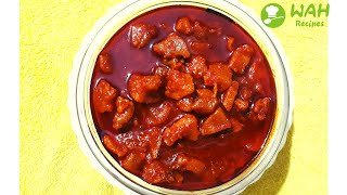 Chicken Pickle Recipe | Home Made Chicken Pickle Video