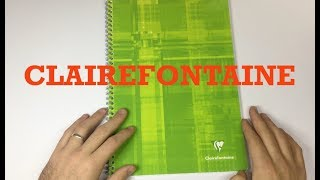 Notebook/Paper Review: Clairefontaine Classic Wire-bound Notebook.