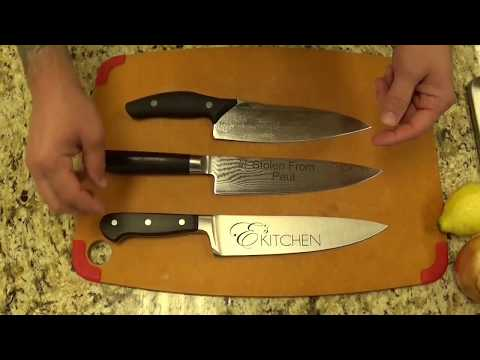 the best chef 39 s knife with paul ayo of e 39 s kitchen youtube. Black Bedroom Furniture Sets. Home Design Ideas