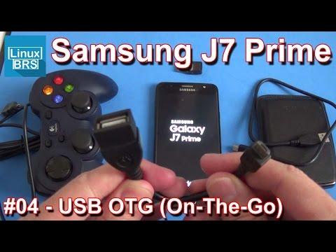 Samsung Galaxy J7 Prime - USB OTG (ON-THE-GO)