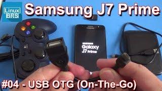 🔘 Samsung Galaxy J7 Prime - USB OTG (ON-THE-GO)