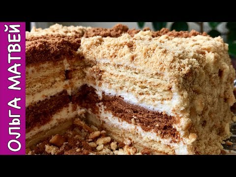 Торт Сметанник Без
