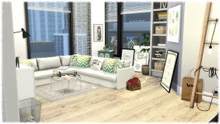 The Sims 4: Speed Build // BEAUTY GURU'S APARTMENT + CC LINKS