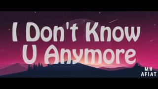 Bo Talks - Know U Anymore ft.Sarah Hyland (Lyrics)