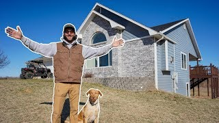 I Bought My Dream House On a Giant Piece of Land!! (Full Tour)