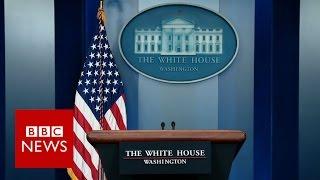 Repeat youtube video White House Press Briefing (Sean Spicer Press Secretary) - BBC News