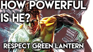 How Powerful Is He? RESPECT: Green Lantern (Hal Jordan)