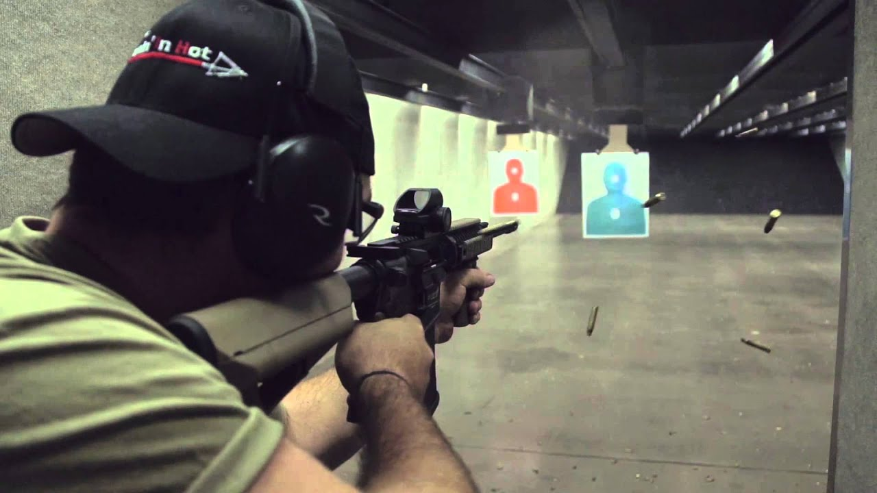 Comin' In Hot at Centerfire Shooting Sports - YouTube